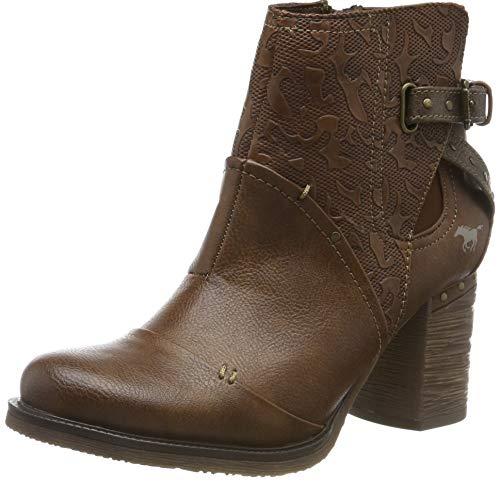 MUSTANG Damen 1340-503-360 Chelsea Boots, Braun (Mittelbraun 360), 40 EU