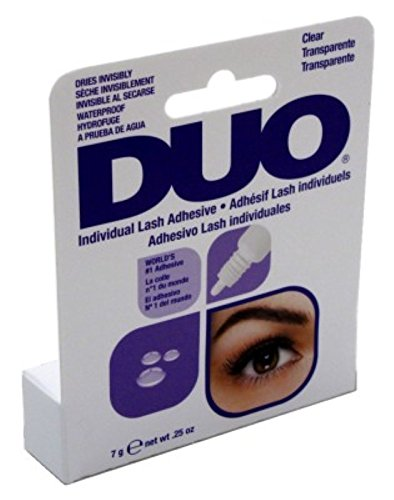 Duo Individual Lash Adhesive Clear 0.25oz by Duo