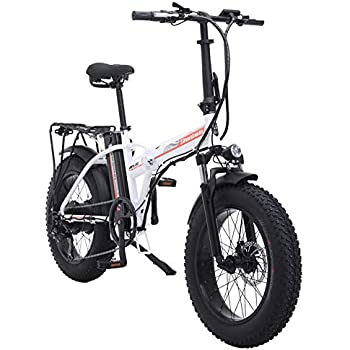 Shengmilo 500W Bicicleta eléctrica Plegable Montaña Nieve E-Bike ...