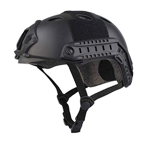 Shoze Multifunction Army Military Tactical Protective ABS Fast Helmet Airsoft Paintball Black