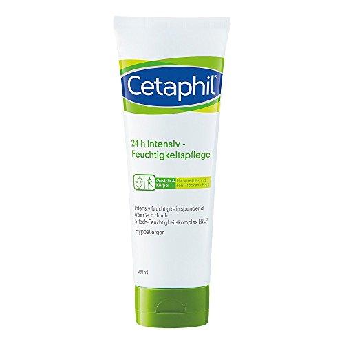 Crema hidratante de cuidado intensivo 24h Cetaphil, 220ml