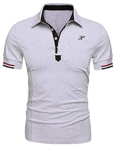 MAXMODA Herren Poloshirt Polohemd Funtionsshirt Tshirt Männer Kurzarm S-XXL