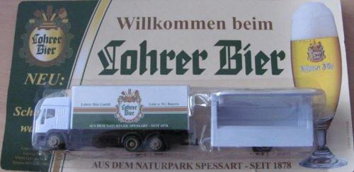 Lohrer Nr.13 - Willkommen Bier - Iveco EuroStar - Hängerzug mit Schankwagen