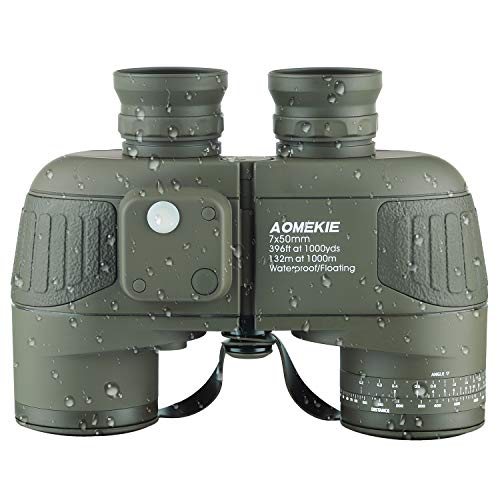 Aomekie Binoculars for Adults 7X50 Marine Military...