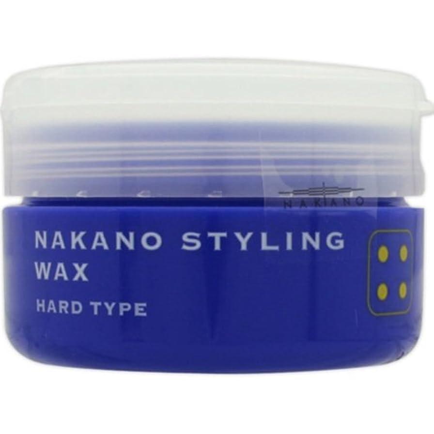 誤って大工によるとナカノ スタイリングワックス 4 ハードタイプ 90g 中野製薬 NAKANO [並行輸入品]