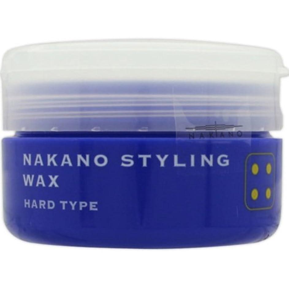 アスレチック支給サスペンドナカノ スタイリングワックス 4 ハードタイプ 90g 中野製薬 NAKANO