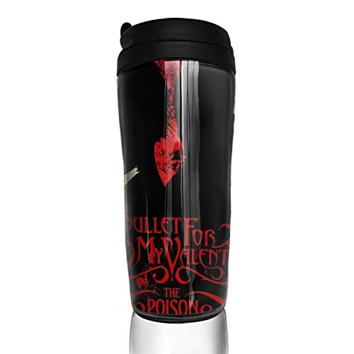 Bullet for My Valentine Fashionable personality double-layer insulated reusable coffee cup, travel mug mug coffee