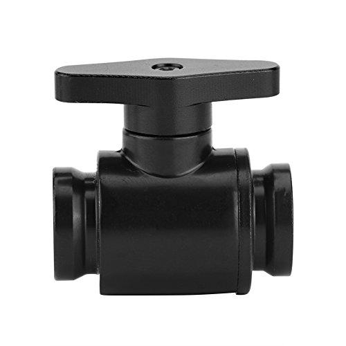 CHICIRIS Válvula de refrigeración por Agua, válvula de Bola, Suave y confiable para computadora de Escritorio(Black Switch)