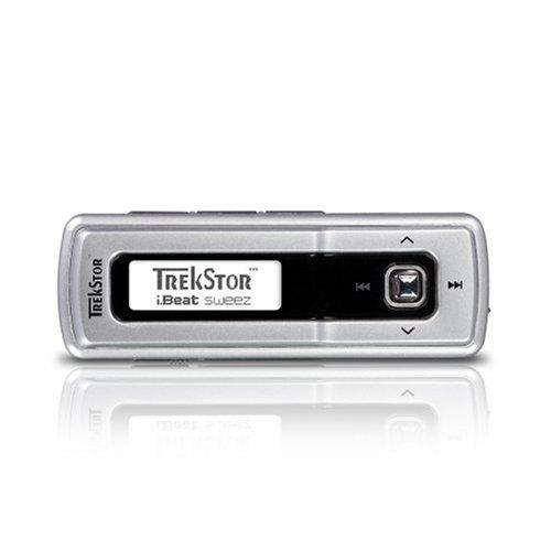 Trekstor i.Beat Fashion Tragbarer MP3-Player 512 MB Silber