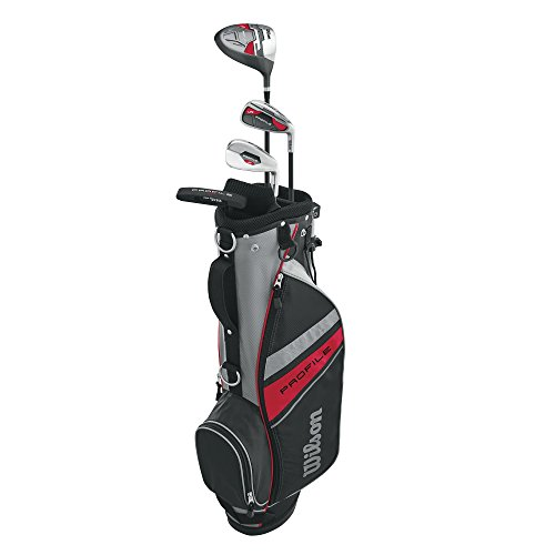 Wilson Unisex Profile Kid's Golf Set Small Right Hand, Red...
