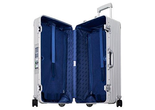 Markenkoffer 9237500500 Topas 75 Sport Trunk E-Tag Multiwheel TSA Alu Aluminium Koffer Trolley Reisekoffer 73 x 37,5 x 43 cm 89 Liter