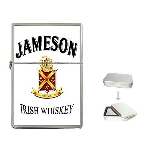 JAMESON IRISH WHISKEY Logo Flip Top Lighter