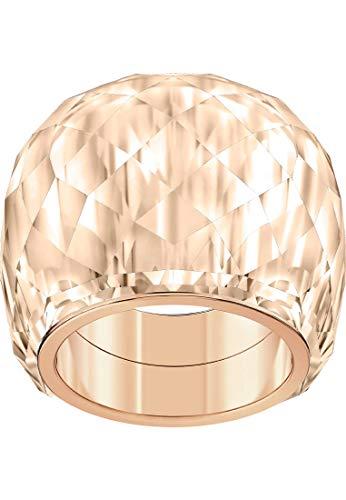 Swarovski Damen-Damenring NIRVANA Metall 52 Silber 32010506