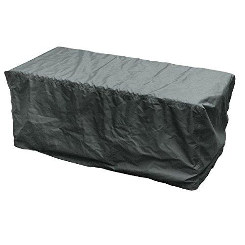 greemotion 127184 afdekking voor kussenbox - bescherming tegen weersinvloeden voor meubels, 126x55x51cm