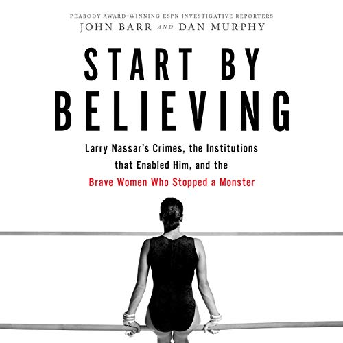 Start by Believing audiobook cover art