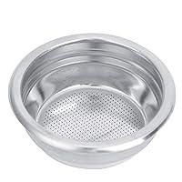 filtri per caffè in acciaio inossidabile, filtro per caffè riutilizzabile da 58 mm cestello portafiltro per caffè cestello per filtro a rete pressurizzato parti di ricambio per macchina(single person)
