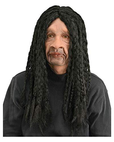 Masque Rasta avec des dreadlocks