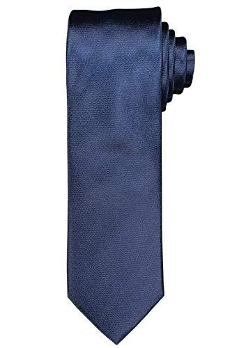 OLYMP Krawatte regular aus reiner Seide mit Nano-Effekt midnight