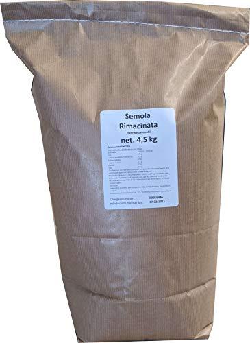 4,5 kg Semola Rimacinata -bestes Hartweizenmehl-