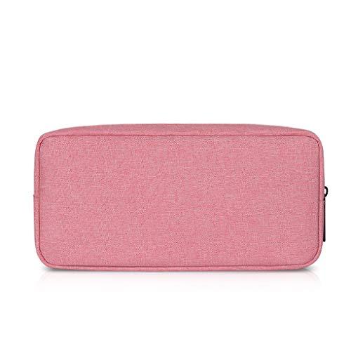Babysbreath17 Portable Oxford Cloth Storage Bag Digital Gadget Devices USB Cable Data Line High Capacity Storage Bag