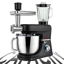 Image of COOKLEE 6-IN-1 Stand Mixer,...: Bestviewsreviews