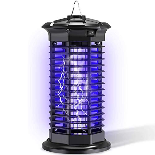 Lámpara Asesina De Mosquitos Eléctrica Fly Bug Zapper Interior Suspensible Luz UV Atracción Mosquito Killer para Interior, Hogar, Cocinas