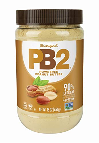 PB2 Foods Powdered Peanut Butter, 454g, from Real Roasted Pressed Peanuts, High in Protein, Natural Ingredients