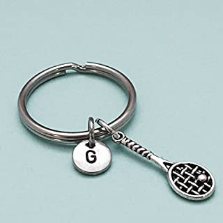 personalized tennis keychains