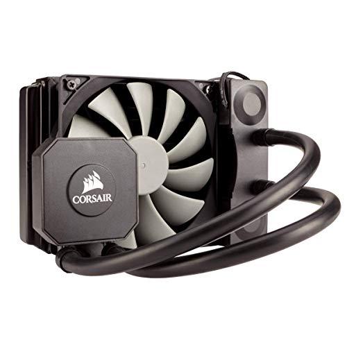 Corsair Hydro H45 All-in-One Liquid CPU Cooler Sistema di Raffreddamento a Liquido, Radiatore da 120 mm, Intel/AMD, Ventola Singola SP120 PWM, Nero