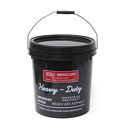 (マーキュリー) MERCURY インダストリアルPPバケツ 蓋付き ME0461 アメリカン雑貨 収納 インテリア おしゃれ (47(ブラック))