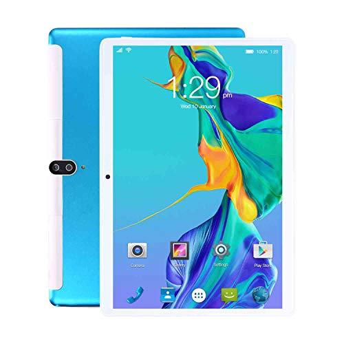 HAIWEI Tableta de 10 Pulgadas, Android 10 Pie, Pantalla IPS HD, 6Gb Ram + 64Gb ROM, Cámara de 8 + 13 MP con procesador Quad-Core, WiFi, Bluetooth, GPS