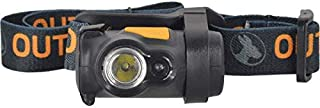 Outback Digger Headlamp Compact 100 Lumen 3 Watt Cree LED 4 Function High/Low White and Solid/Flashing Red with Tilt Includes 3 AAA Alkaline Batteries