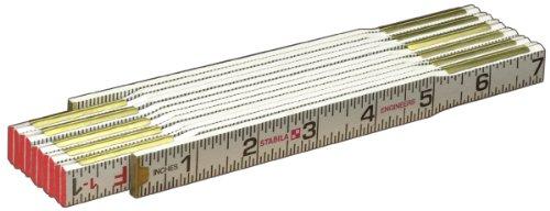 Stabila 80015 Type 600 Engineer's (1/16ths, 1/10ths, 1/100ths) Folding Rules