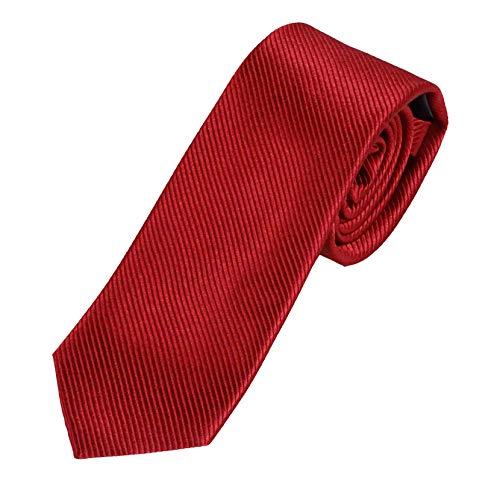 Krawatte blau 100% Seide - Pietro Baldini Krawatten handgefertigt (Bordeaux)