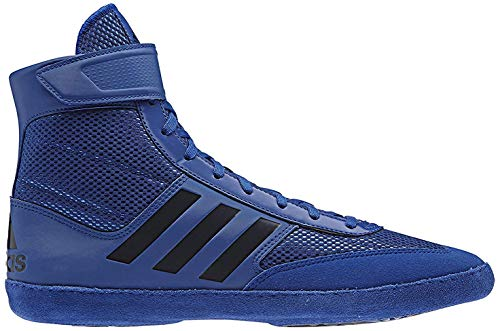 adidas Combat Speed 5 Men's Wrestling Shoes, Royal/Dark Royal, Size 12.5