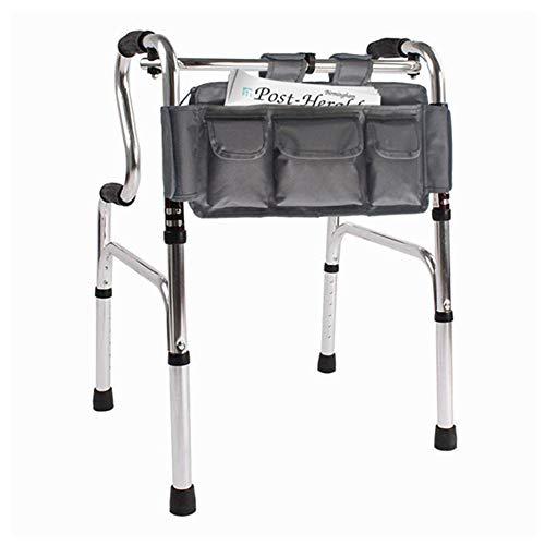 Ruosaren Walker tas onder stoel 18x8,5 inch multi-pocket waterdichte Walker tas Organizer voor rolstoel