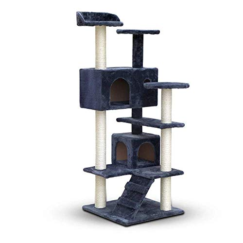 i.Pet 134cm Cat Scratching Post - Grey