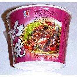 KAILO Instant Noodle Soup Beef, 120 g, 12-Count