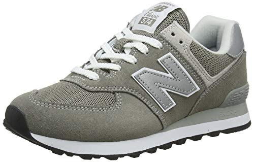 New Balance Damen 574v2 Core Sneaker, Grau (Grey), 41 EU