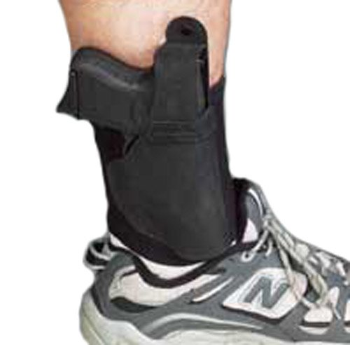 Galco Ankle Lite/Ankle Holster for Ruger LCP, KelTec P3AT, P32 (Black, Right-Hand)