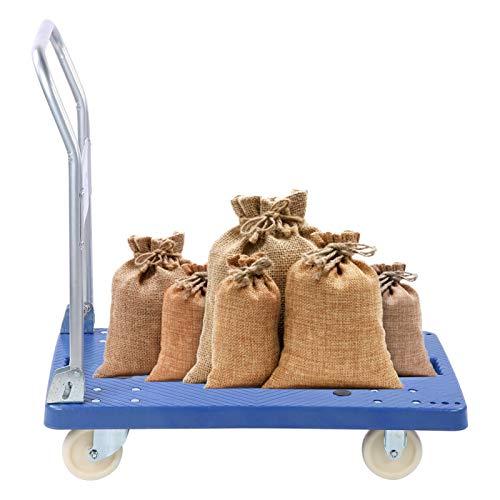 Carretilla de mano plegable de 360 kg para remolque de cama plana