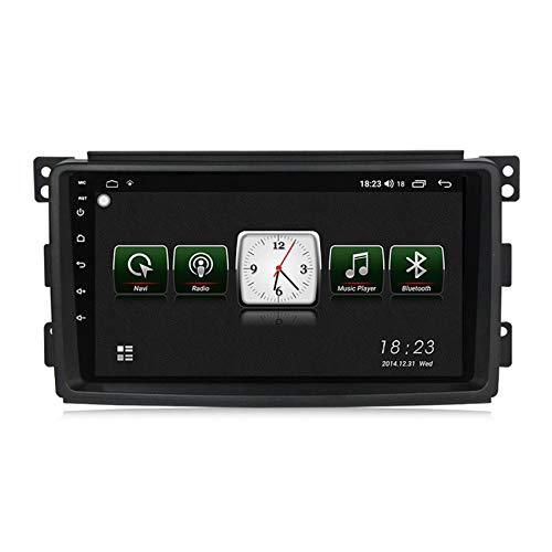 ADMLZQQ Car Radio 2 DIN Navegador GPS Android para Benz Smart 2006-2009 HD Pantalla táctil con Mirror Link DSP Radio FM/Am Built-in carplay Manos Libres Bluetooth,7731,1+16G