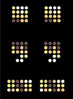 【アルファベット】 スパンコールモチーフ 【記号:,  .】 アイロン接着可 ロゴに最適のMサイズ ご希望の文字を色選択よりお選びください。