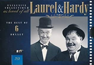 Laurel and Hardy Collection II - 6-Disc Box Set ( A-Haunting We Will Go / The Dancing Masters / Jitterbugs / The Big Noise / Great Guns / The Bullfig [ NON-USA FORMAT, Blu-Ray, Reg.B Import - Sweden ]