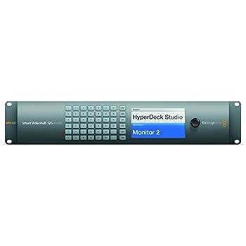 Blackmagic Design Smart Videohub 12G 40x40 | SD HD Ultra HD SDI Supported 12G-SDI Router
