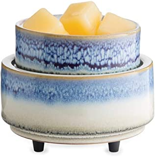 CANDLE WARMERS ETC 2-in-1 Candle and Fragrance Warmer for Warming Scented Candles or Wax..