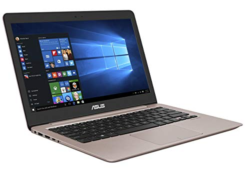 Asus Zenbook UX310UA-FC348T 33,7 cm (13,3 Zoll matt, Full-HD) Laptop (Intel Core i7, 16 GB RAM, 256 GB SSD, Intel HD Graphics, Win 10 Home) Rosegold (Generalüberholt)