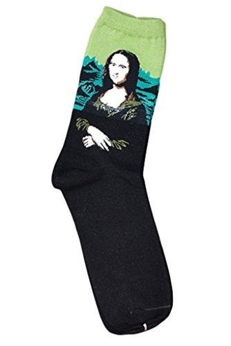 Bigood Damen Socken, gemustert Gr. Einheitsgröße, #G