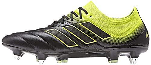 Adidas Copa 19.1 SG, Botas de fútbol Hombre, Multicolor (Negbás/Amasol/Negbás 000), 40 2/3 EU