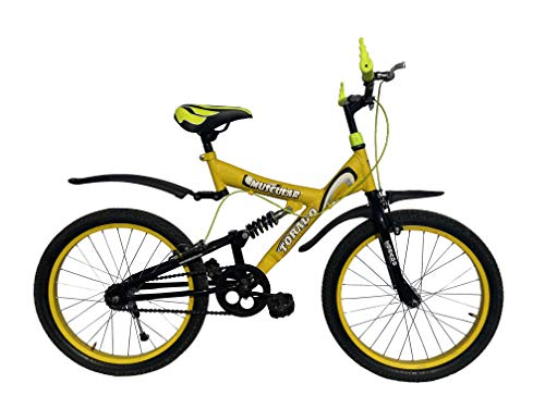 Torado Muscular 20 Inches Bicycle for Children - Yellow